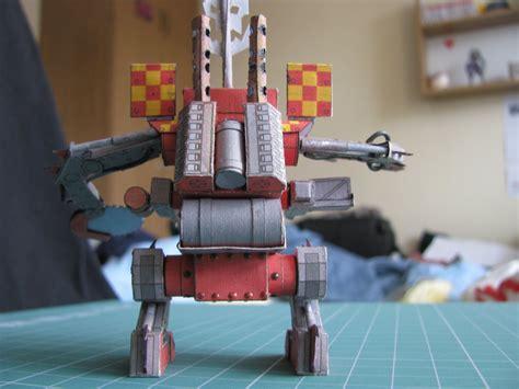 Papercraft 40k - deff dread warhammer 40k papercraft by kotlesiu on