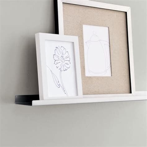 Picture Frame Ledge Shelf by Metal Picture Ledge West Elm