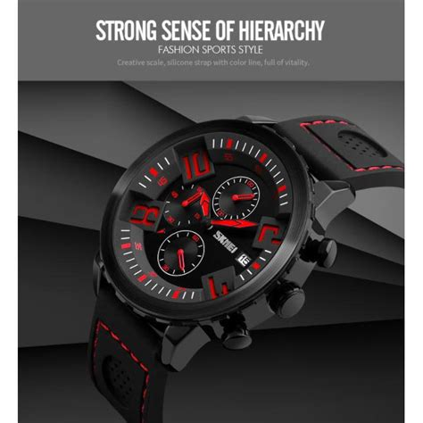 Jam Tangan Pria Analog Original Skmei 100 Formal Style Garansi Resmi skmei jam tangan analog pria 9153cl black white jakartanotebook