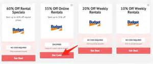 Car 2 Cover Discount Code Budget Rent A Car Coupons By Couponpal Valid October