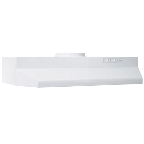 white range hood under cabinet broan elite range hood 100 stainless steel under cabinet