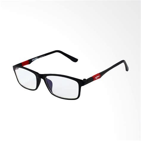 Kacamata Anti Radiasi Original jual kateluo anti radiasi original frame kacamata black 13022 harga kualitas