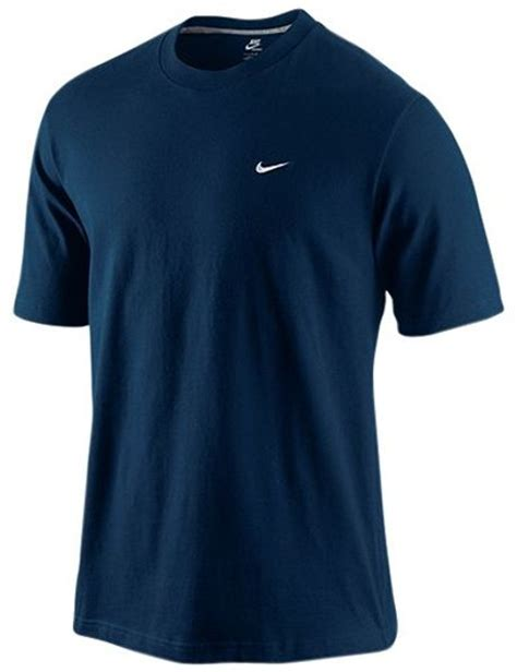 tshirt nike navy nike sleeve crew t shirt navy in blue for navy