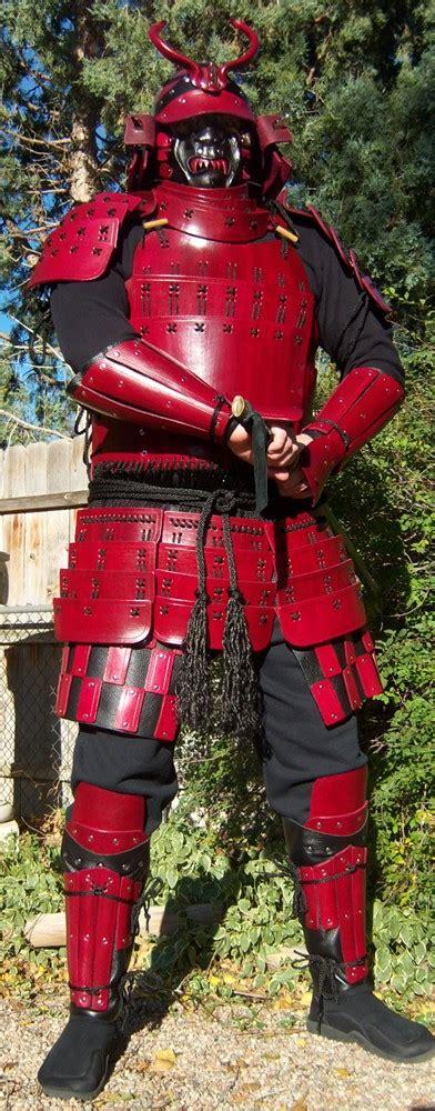 samurai demon armor red demon samurai 1 by dale elad on deviantart