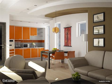 Furniture Interior Kitchen Designs Stunning Kitchen Interior Design With