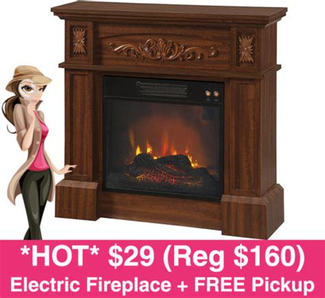 Essential Home Electric Fireplace by 29 Reg 160 Essential Home Livingston Electric