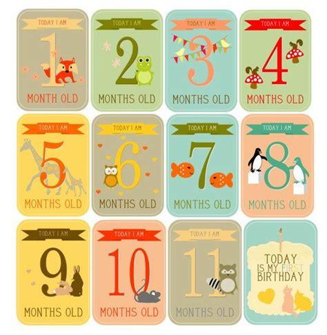 printable baby milestone cards instant download printable baby milestone cards monthly