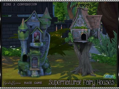 where to buy a fairy house sims 3 supernatural fairy houses at srslysims sims 4 updates objects sims 4 pinterest