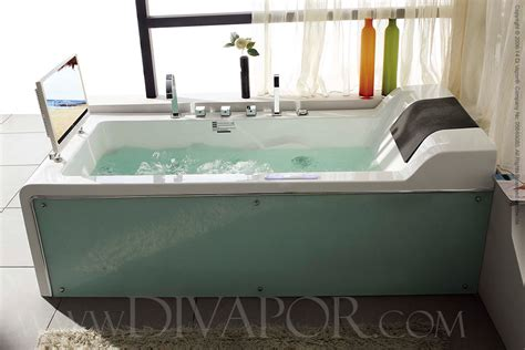 bathtub with tv hydromassage whirlpool bathtubs the cosmo