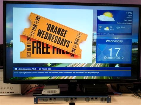 Live Video And Digital Signage Software From Dynamax Tv Signage Templates