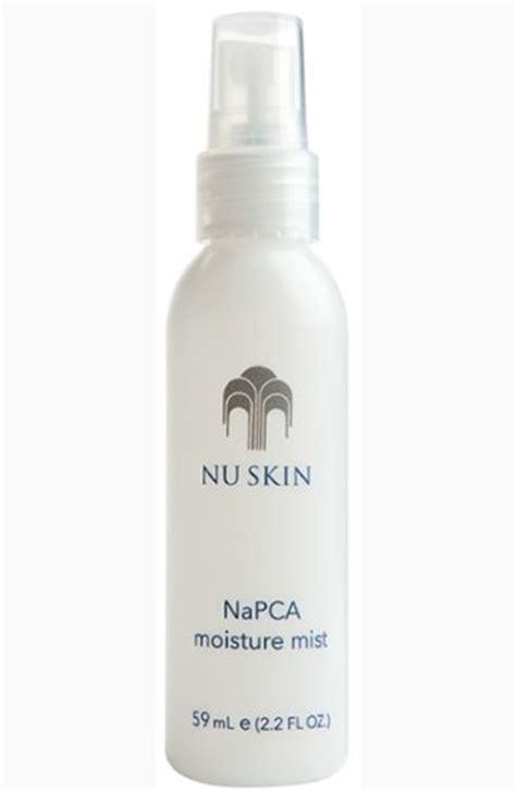 Vitamin Nu Skin products review nu skin napca moisture mist skin