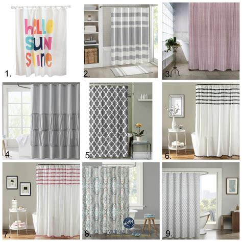 the best shower curtains the best shower curtains to update a bathroom with pink