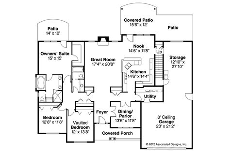 European Floor Plans by European House Plans Littlefield 30 717 Associated Designs