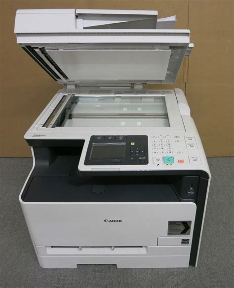 Printer Laser Copy Scan canon i sensys mf8230cn colour laser all in one printer
