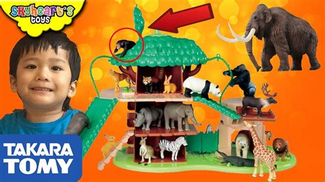 Zoo Zoo Zoo Takara Tomy takara tomy big tree house with sound ania animal