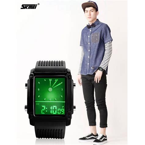 Jam Tangan Pria Bonico Jam Tangan Wanita Trendy Bnc 1682l skmei jam tangan trendy digital analog pria 0814g