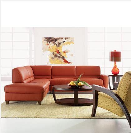 macys orange sectional sofa joelle sofa macys brew home