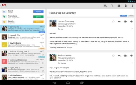 gmail app for android ads coming to gmail app for android liliputing