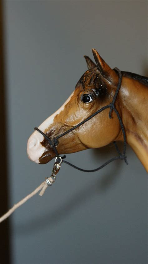 Handmade Rope Halters - handmade breyer rope halter by bellayona on deviantart