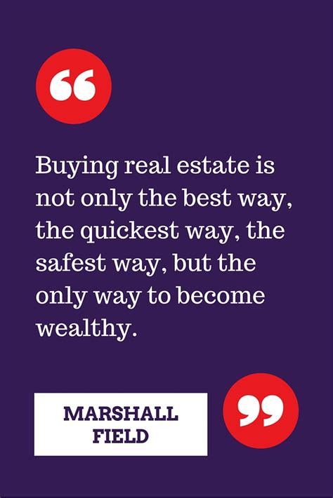 For Only For Buyer the greatest real estate quotes