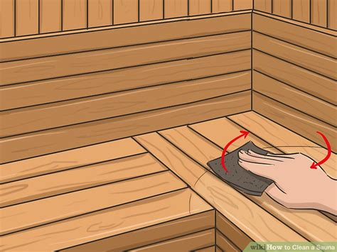 how often should you use sauna and steam room how to clean a sauna 10 steps with pictures wikihow