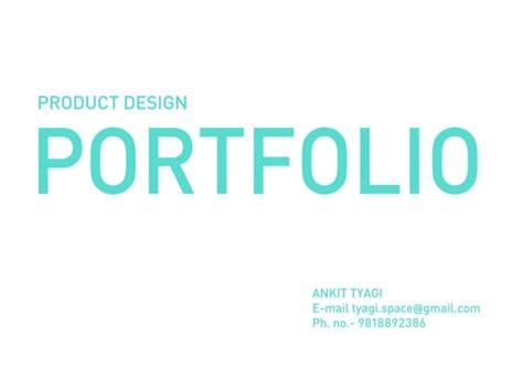 design portfolio meaning ankit tyagi product design portfolio
