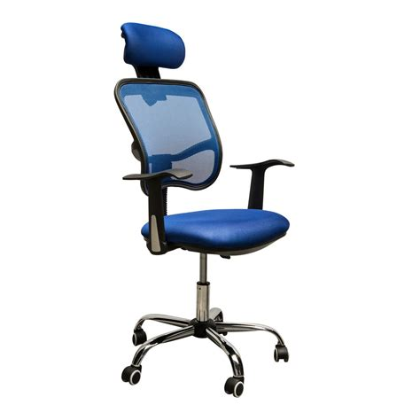 High Back Mesh Office Chair With Headrest by Homcom Adjustable Mesh High Back Computer Desk Office Task