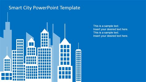 powerpoint  design  city background slidemodel
