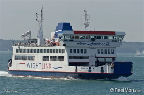 Ais St Helens Mba by End Of An Era At Wightlink