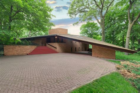 architect designed house for sale frank lloyd wright designed house listed in st louis park