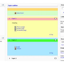 moodle theme yui moodle plugins directory topics format colours