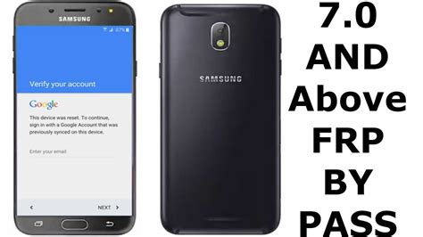 0 samsung code not working s7 bypass account verification samsung j7 s7 s8 c9 and other android 7 0 phones