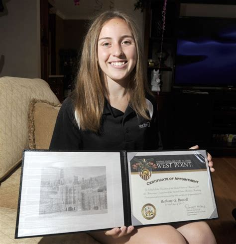 Bristol Acceptance Letter Bethany Headed To West Point Bristol Local News Heraldcourier