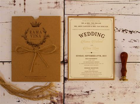 wedding invitations jakarta sentimetercard wedding invitations in jakarta bridestory