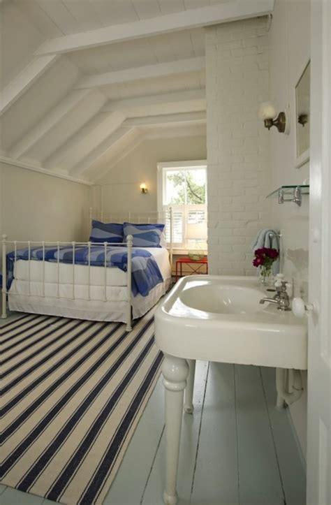 attic guest room cottage bedroom schranghamer design group