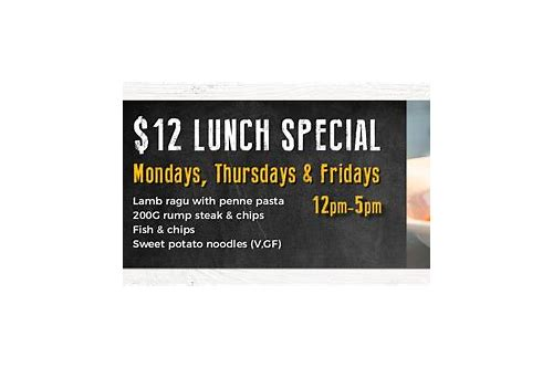 friday food deals sydney
