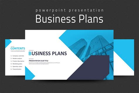 Business Plans Presentation Strategy Blue Strategy Template Ppt