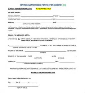 notarized letter template 8 free word pdf documents