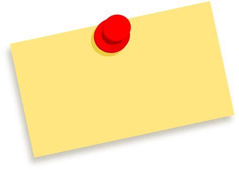 Kertas Yellow Board catatan paku pesan 183 gambar vektor gratis di pixabay