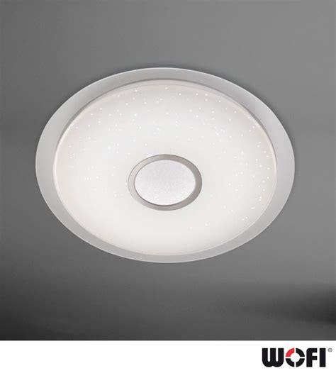 wofi kiana led 1 light dimmable remote flush