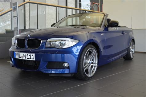 Bmw 1er Cabrio Bodykit by Last Bmw 1 Series Convertible In Le Mans Blue Rolls