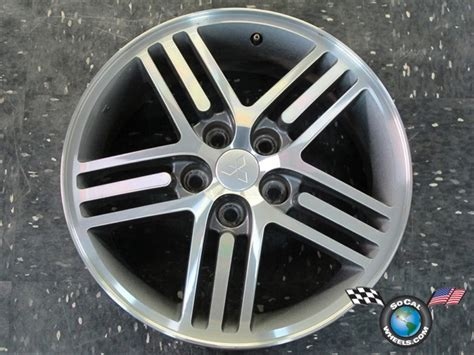 one 00 05 mitsubishi eclipse factory 17 quot wheel oem