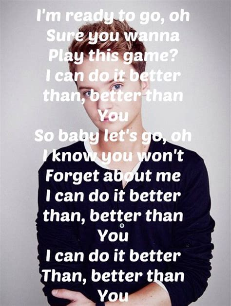 better by you better than me lyrics best 20 conor maynard songs ideas on conor