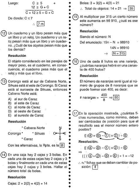 preguntas faciles sobre matematicas problemas de razonamiento l 243 gico matem 225 tico preguntas de