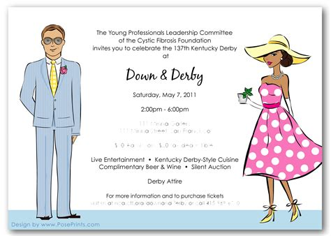 free customizable invitation templates kentucky derby quotes quotesgram