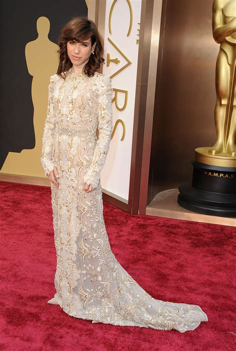 The Oscars Liveblog At Catwalk And Makeup by Sally Hawkins At The 2014 Oscars Who Wore What See
