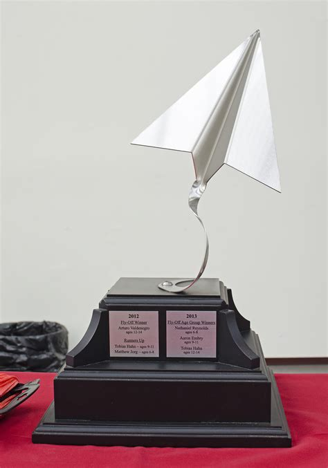 How To Make A Paper Trophy - the fly trophy pima air space museum