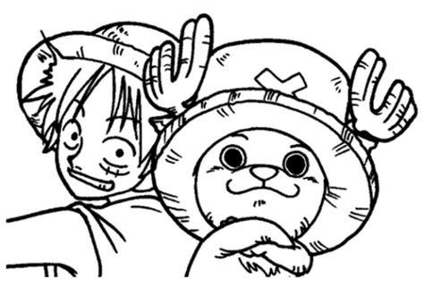 anime manga piece coloring pages printable
