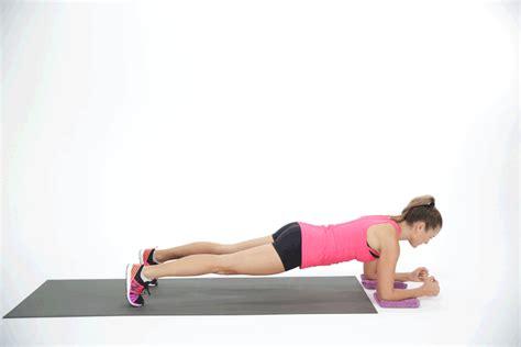 sliding plank ab exercises for crop tops popsugar fitness photo 6