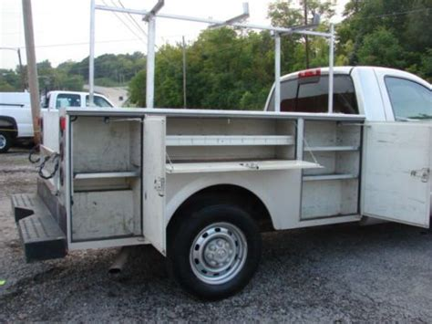 southern truck beds sell used low miles only 107k stahl utility bed clean